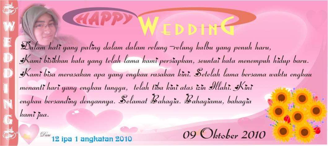 Kartu Ucapan Pernikahan Islami 36 Undangan Unik 25 Picture